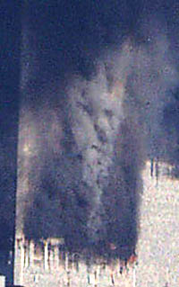 Face in Smoke at WTC
